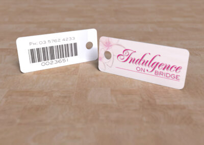 Indulgence on Bridge - Key Tag