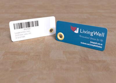 LivingWell - Key Tag