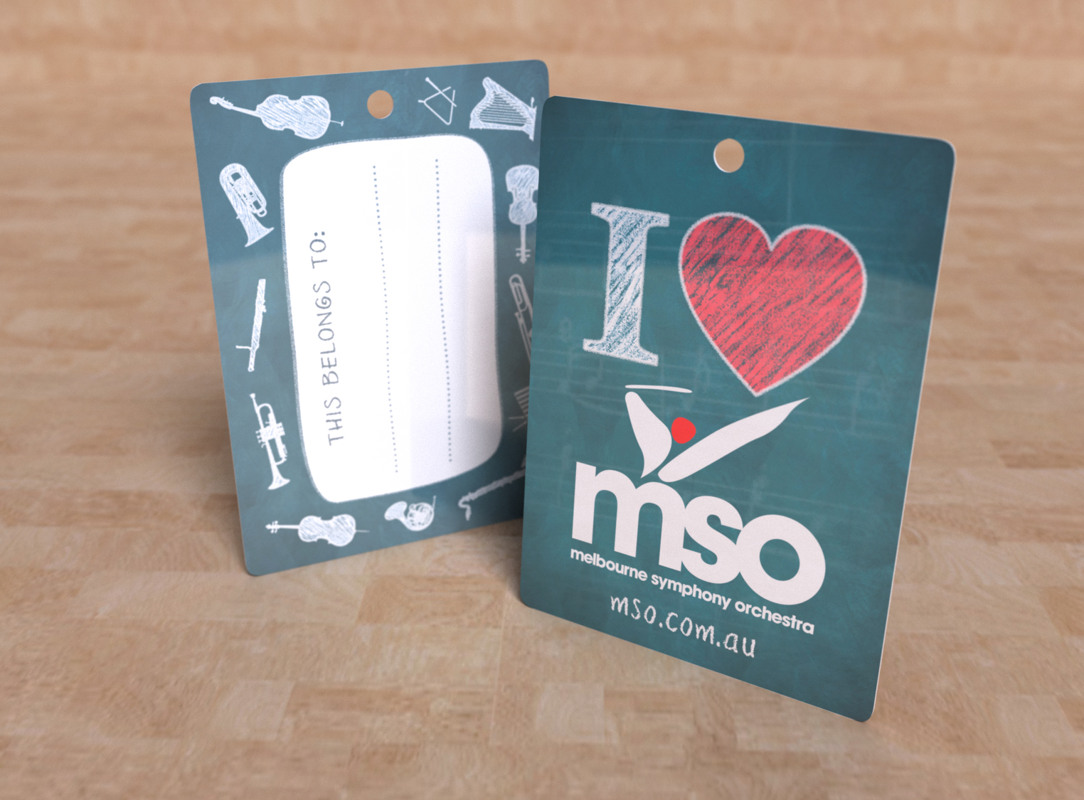 Luggage Tag - MSO