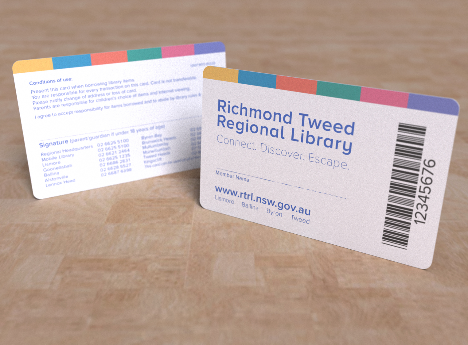 Libraries express card richmond tweed regional library colourmoves