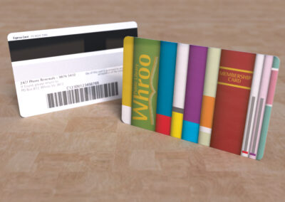 Whoo Public Library - Library Card