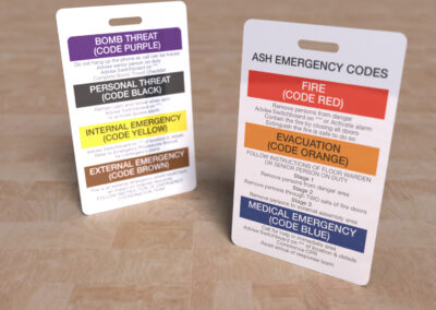 ASH Emergency Codes