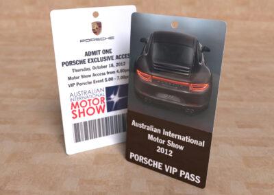 Porsche » AIMS 2012 VIP Pass