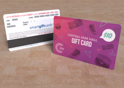 Central Park Mall Gift Card