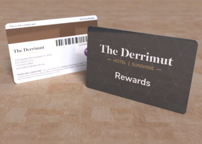 The Derrimut - Rewards