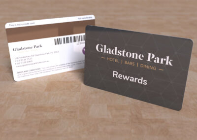 Gladstone Park - Rewards