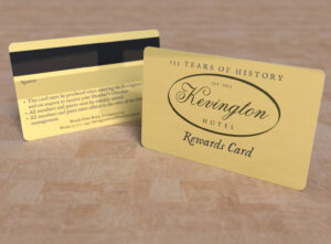Kevington Hotel - Rewards Card
