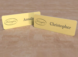 Kevington Hotel - name tag