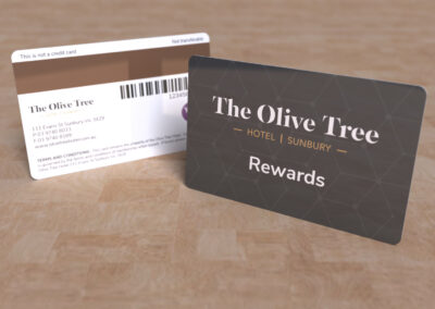 The Olive Tree - Rewards
