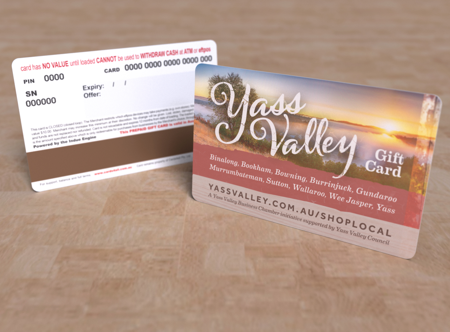 Gift cards express card yass valley business chamber gift card colourmoves