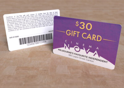 Cinema Nova - Gift Card $30